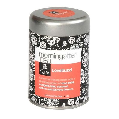 Lovebuzz - Czarna herbata Vintage Teas z dodatkami - 10x2,5g