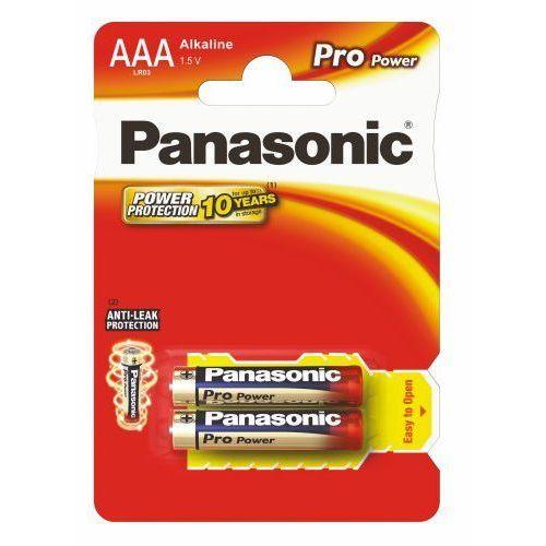 2 x Panasonic Alkaline PRO Power LR03/AAA (blister), PAN-APRR03