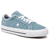 Tenisówki CONVERSE - One Star Pro Ox 163254C Celestial Teal/Bla, kolor niebieski
