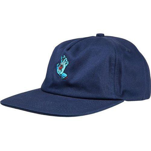 czapka z daszkiem SANTA CRUZ - Screaming Mini Hand Cap Indigo (INDIGO) rozmiar: OS
