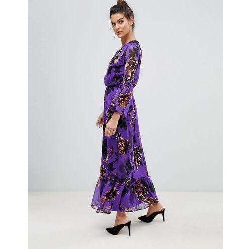 Y.A.S Bloom Floral Maxi Dress - Multi, w 4 rozmiarach