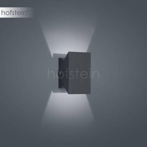 free zewnętrzny kinkiet led siwy, 1-punktowy - nowoczesny - obszar zewnętrzny - free - czas dostawy: od 2-3 tygodni marki Helestra