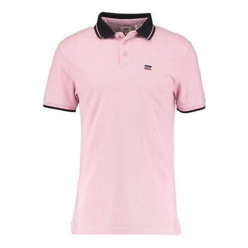 Levi's ® breaker logo koszulka polo pink nectar/black