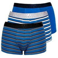 bokserki męskie 3-pack m niebieskie marki S.oliver