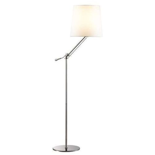 LAMPA podłogowa OTELIO MA05098FA-001-02 Italux abażurowa OPRAWA stojąca biała (1000000264319)