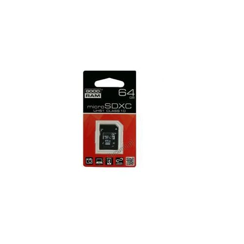 Karta pamięci microSD GOODRAM 64GB CL10 UHS-I