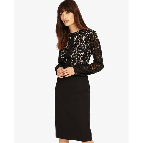 Phase Eight Eviana Lace Sleeve Dress, w 5 rozmiarach