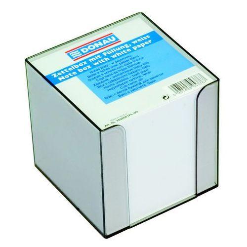 Kostka DONAU nieklejona, w pudełku, 95x95x95mm, ok. 700 kart., biała
