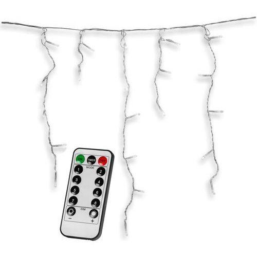 Zwisające lampki sople kurtyna na ogród 600 diod + pilot marki Voltronic ®