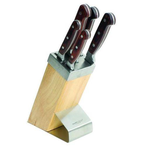 Komplet noży w bloku Titanium