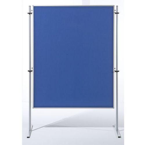 Carto Ścianka funkcyjna, wys. x szer. 1500x1200 mm, pokrycie błękitną tkaniną, opak. 1