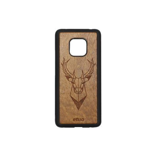 Huawei Mate 20 Pro - etui na telefon Wood Case - Jeleń - imbuia, ETHW800WOODJEI000