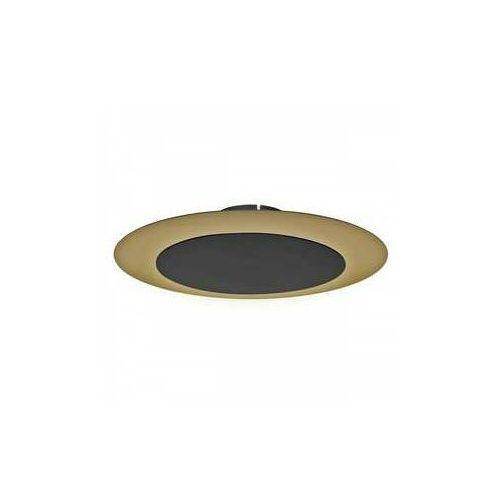 Luminex rondo 3132 plafon lampa sufitowa 2x8w g9 czarny/złoty (5907565931327)