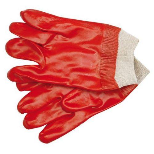 Rękawice robocze VOREL 74150 Czerwony (rozmiar 10) (5906083741500)