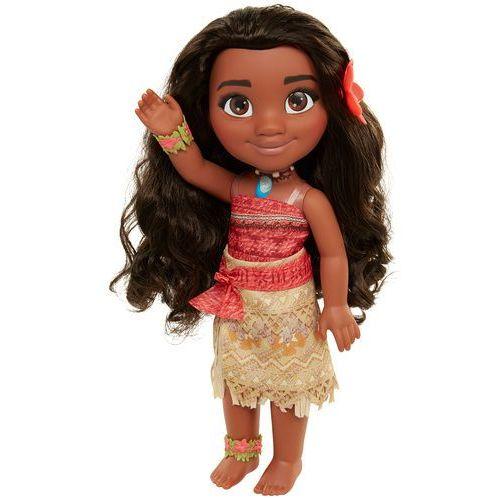 Disney vaiana z długimi włosami