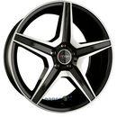 sw6 schwarz voll poliert einteilig 8.50 x 18 et 30 marki Xtra wheels