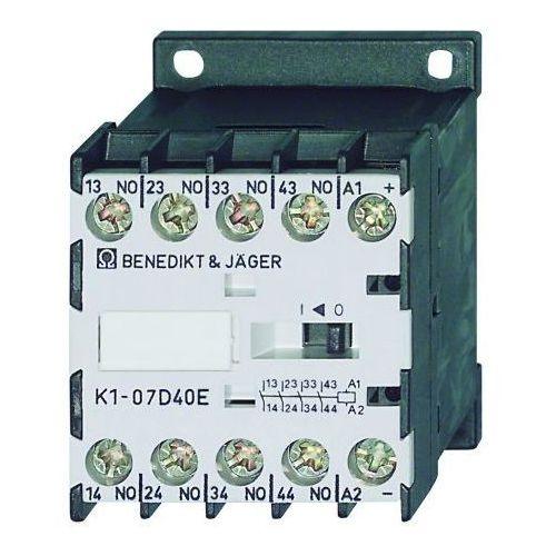 4 polowy 7A / 12V DC / 3Z + 1R / z modułem tłumiącym K1-07D31=12VS