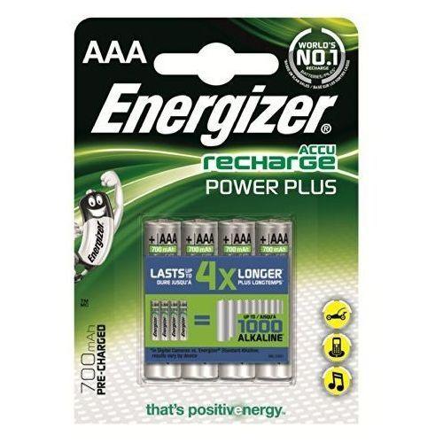 4 x akumulatorki  r03/aaa ni-mh 700mah power plus, marki Energizer