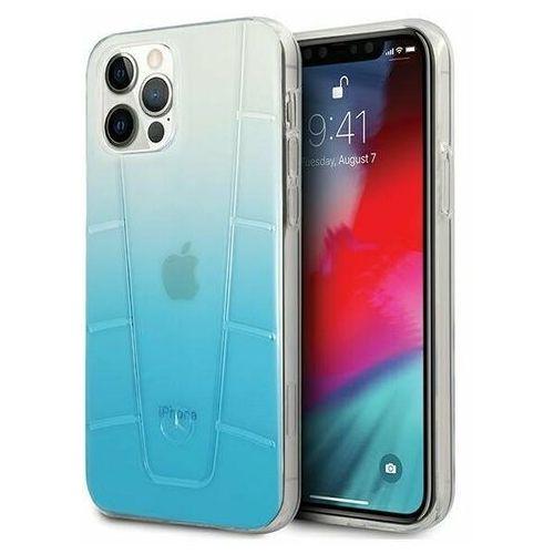 "Mercedes MEHCP12LCLGBL iPhone 12 Pro Max 6,7"" niebieski/blue hardcase Transparent Line (3700740483701)"