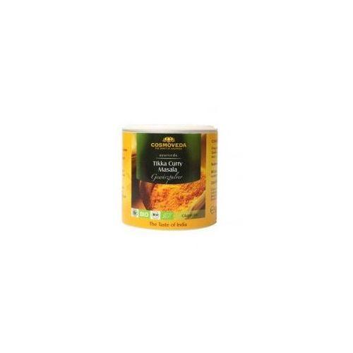 Mieszanka ORGANICZNYCH przypraw do kurczaka Tikka Curry Masala 80g Cosmoveda (4032108129686)