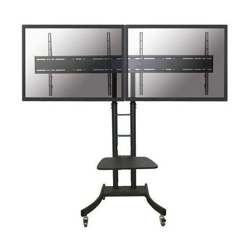 "NewStar PLASMA-M2000ED - Stojak na kółkach na 2 ekrany 42-70"" max 125kg"