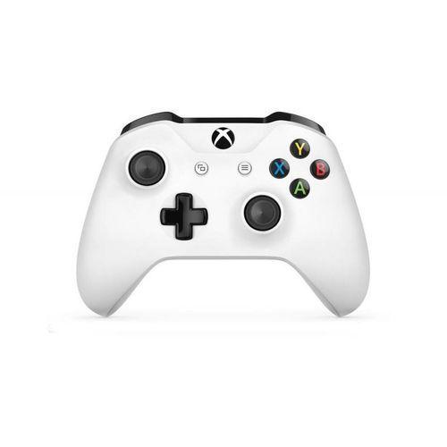 Kontroler bezprzewodowy Microsoft dla konsoli Xbox (biały)