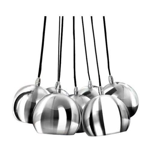 LAMPA wisząca NOA 7 PL-6084 CH/WH Azzardo metalowy ŻYRANDOL kule ball chrom z kategorii Lampy sufitowe