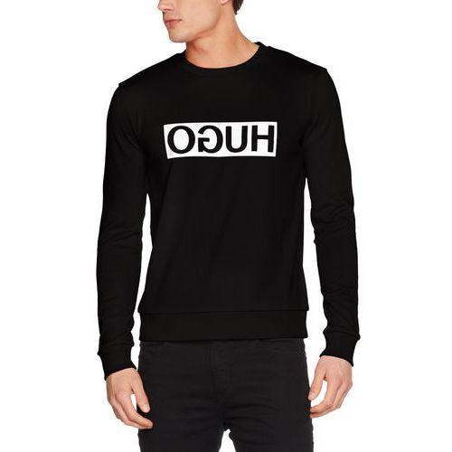 Hugo Men męska bluza dicago - s czarny (black 001) (4043621696654)