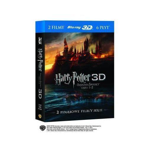 Harry potter i insygnia śmierci 1-2 3-d (6bd)  7321909312593 wyprodukowany przez Galapagos films