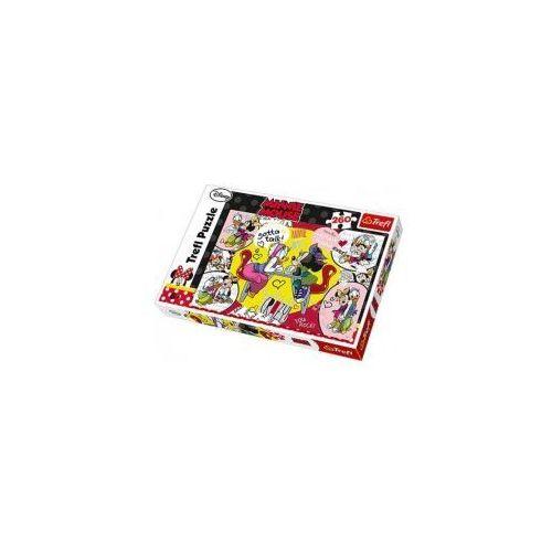Puzzle myszka minnie i daisy 260 el. marki Trefl