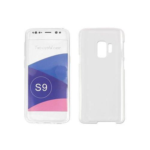 Samsung Galaxy S9 - etui na telefon Full Body Slim - biały, ETSM671FBSLCLR000