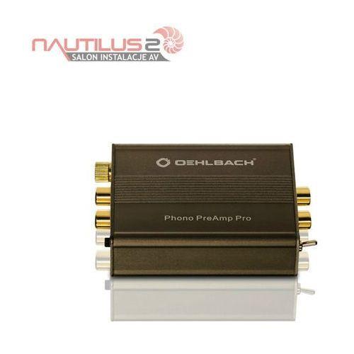 Oehlbach Phono PreAmp Pro - Dostawa 0zł - Raty 10x0% w Credit Agricoleu lub rabat!