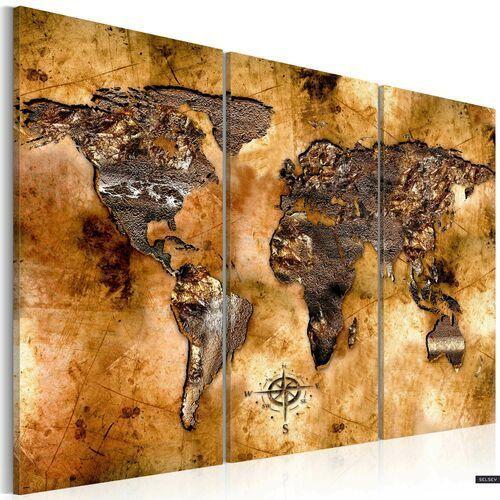 SELSEY Obraz - Świat w opalizujących odcieniach 120x80 cm (5903025034461)