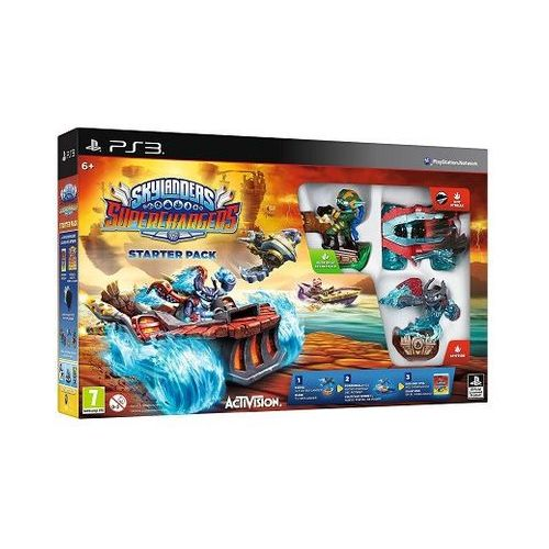 Skylanders superchargers zestaw startowy ps3 marki Activision