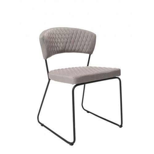 Signu Design Krzesło ZETA szare, kolor szary