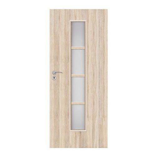 Drzwi pokojowe Olga 80 prawe dąb sonoma, SOLGADS000013