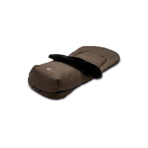 Moon śpiworek na nóżki brown/fishbone (4025583035399)