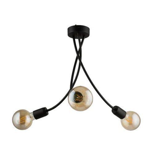 Lampa wisząca Luce 1 3 x 60 W E27 czarna, LU 3 CZ