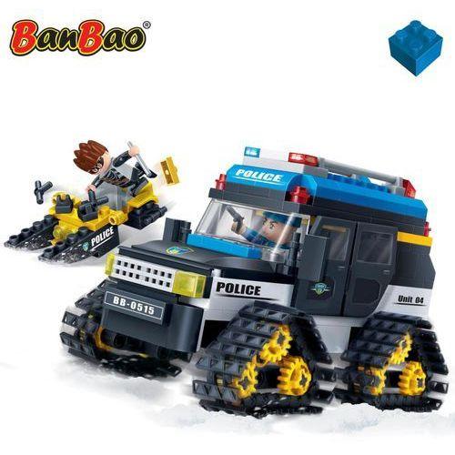 BanBao Zimowy samochód policyjny, 7007