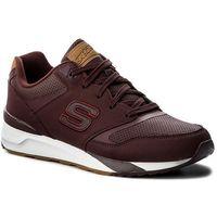 Sneakersy - og 90 cropsey 52352 burgundy marki Skechers