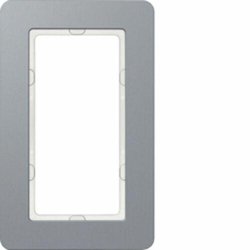 KNX Q.7 Ramka z dużym wycięciem aluminium 13096074