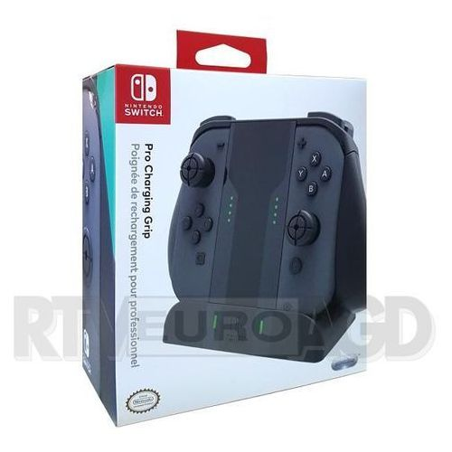 Performance designed Ładowarka joy-con charging grip do nintendo switch czarny (0708056062088)