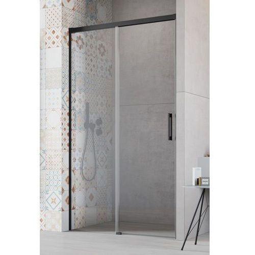 Radaway drzwi wnękowe idea black dwj 160 lewe, szkło przejrzyste wys. 205 cm, 387020-54-01l