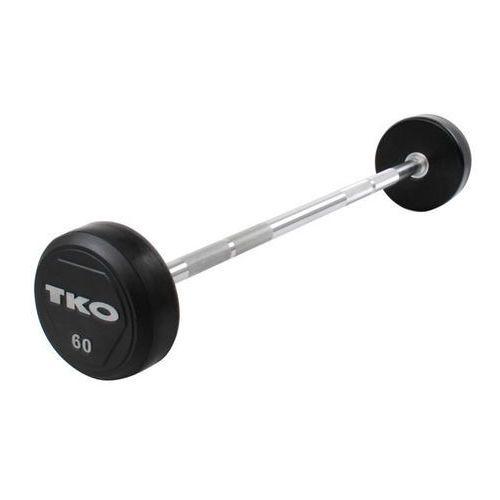Sztanga prosta gumowana Rubber Straight Bar 12,5 kg TKO - 12,5 kg