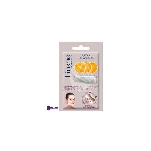 detoks i rozświetenie peel off (w) glinkowa maska głęboko oczyszczająca 10g marki Lirene