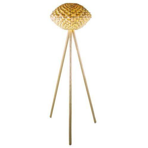 Triolo-lampa podlogowa statyw bambus wys.137cm marki Aluminor