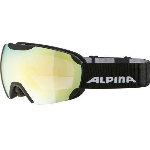 Alpina gogle narciarskie pheos qmm black matt