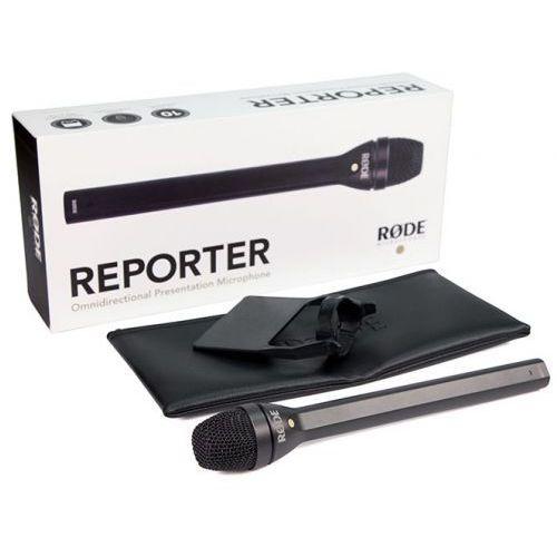 Rode reporter mikrofon reporterski z nakładką
