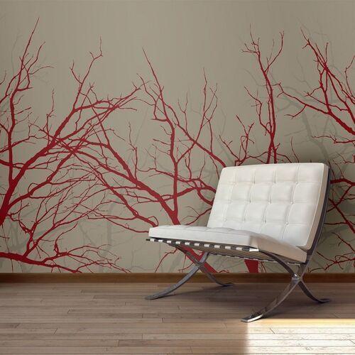 Fototapeta - red-hot branches marki Artgeist