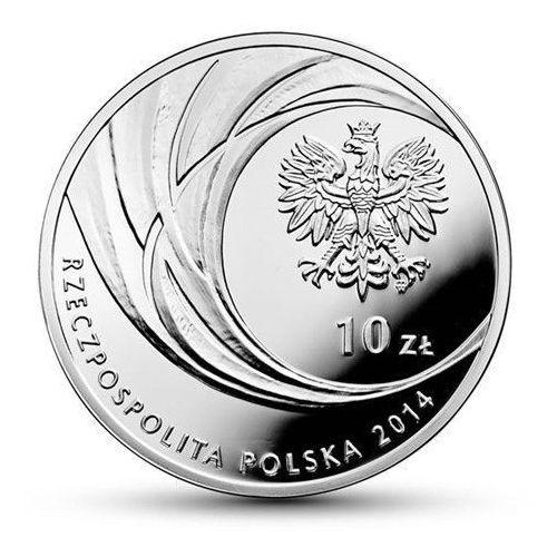 Srebrna moneta z okazji kanonizacji jana pawła ii - 10 zł - kolor- wysyłka w 24 h! - 24 h marki Nbp